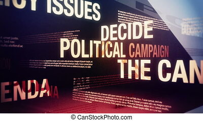Political Campaign Related Terms