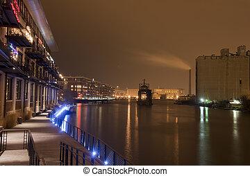 Milwaukee River Riverwalk