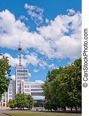 Derzhprom. Kharkov, Ukraine - House of State Industry -...