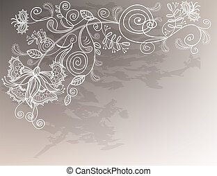 Wedding graphic 2 - Refine wedding background with lace...