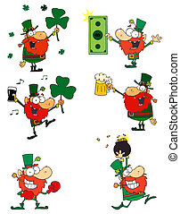 Leprechauns Collection - Happy Leprechauns Collection