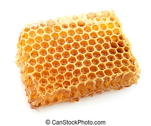 honeycomb close up - Tasty and useful honeycomb close up on...