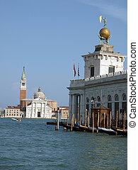 Venice - basilica of San Giorgio Maggiore and Punta Dogana