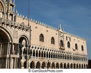 The Doges Palace -Venice , Italy