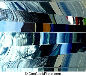 REFLECTIVE SURFACE - A multi colored reflective surface...