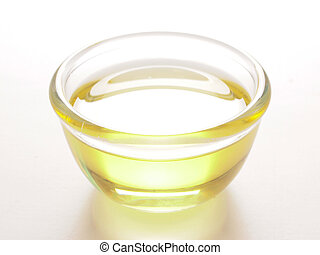 close up of a bowl of cooking oil