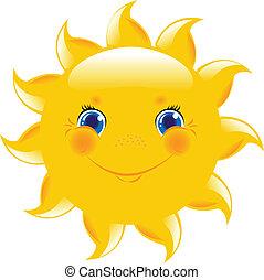 Sun - Cartoon Sun