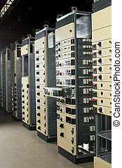transformer cabinet of the eight sections