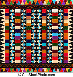 American indian background - American indian ethnic pattern...