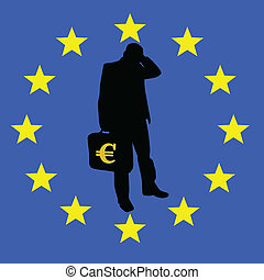 concern for the survival of the euro