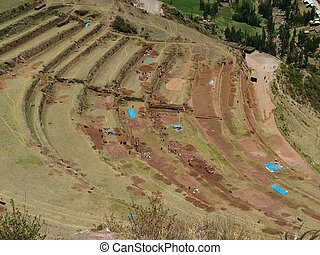 Repairing the Inca heritage - Conservation works in the Inca...