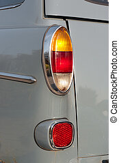 taillights of a classic car