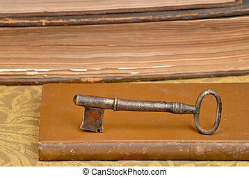 Key on Book