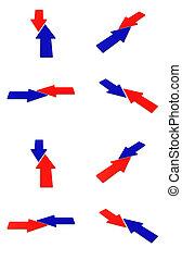 Collision arrows