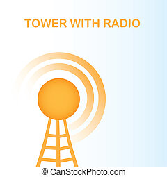 tower with radio