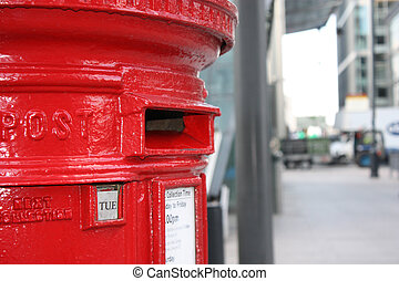traditional red letter box