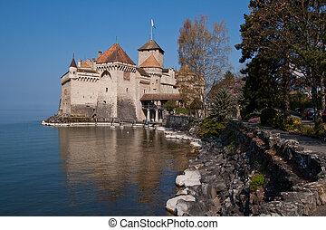 Chateau de Chillon, Montreux Switzerland