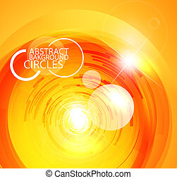 Abstract futuristic background - Vector illustration for...