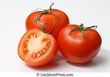 Fresh tomatoes - Fresh three tomatoes