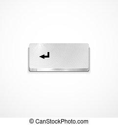 Vector enter button