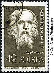 POLAND - CIRCA 1959: A stamp printed in Poland shows Dmitri...