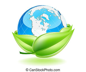 Protect The Earth - This image is a vector file representing...