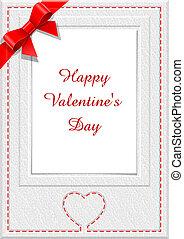 frame for saint valentine's  day