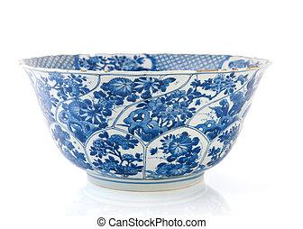 Antique Dutch bowl in Delfts blue