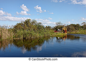 Air boat in Florida