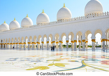 Sheikh Zayed Mosque in Abu Dhabi - Photo of Sheikh Zayed...