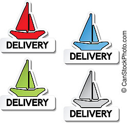 Vector transport pointers - ship delivery