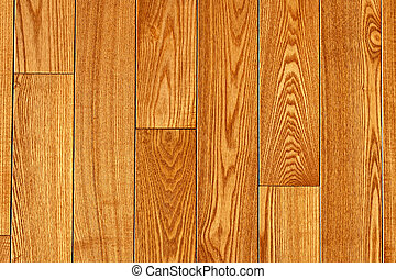Hardwood floor - Hardwood oak floor boards view from above...