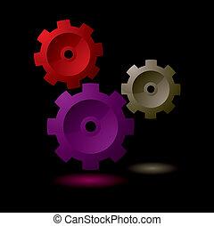 Gear cog symbol