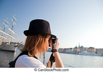 A photographer in Stockholm, Sweden - A photographer artist...