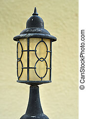 Lamp post - An antique lamp post