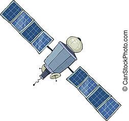 スペース, 人工衛星