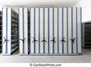Automated shelving systems - Automated shelving system with...