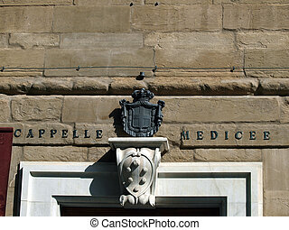 Florence - Entrance to the Medici Chapels