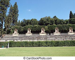Boboli Gardens Amphitheatre - Florence, Tuscany
