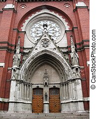 igreja, PORTA