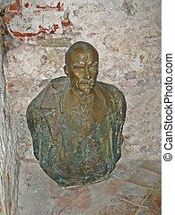 oxidado, Lenin, Escultura