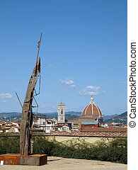 View on Florence from Palace Pitti