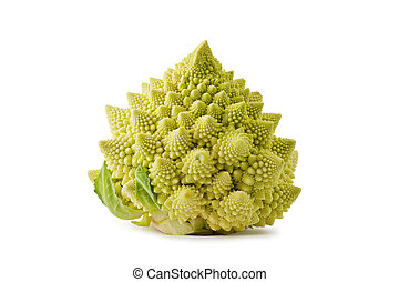 Romanesco Broccoli Brassica oleracea - Whole romanesco...