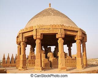 chaukhandi tombs Karachi, Pakistan