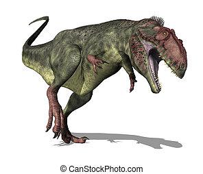 Giganotosaurus Dinosaur - The Giganotosaurus dinosaur lived...