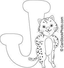 Coloring Page Jaguar