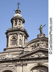 La Plaza de armas, Santiago de Chile