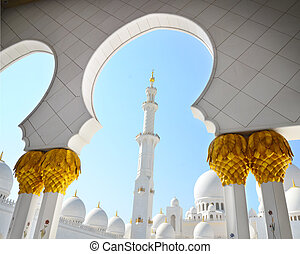 Detail of Sheikh Zayed Mosque,UAE - Detail of Sheikh Zayed...