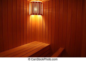 lighting in the sauna