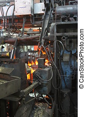 forging - Machine-forged metal